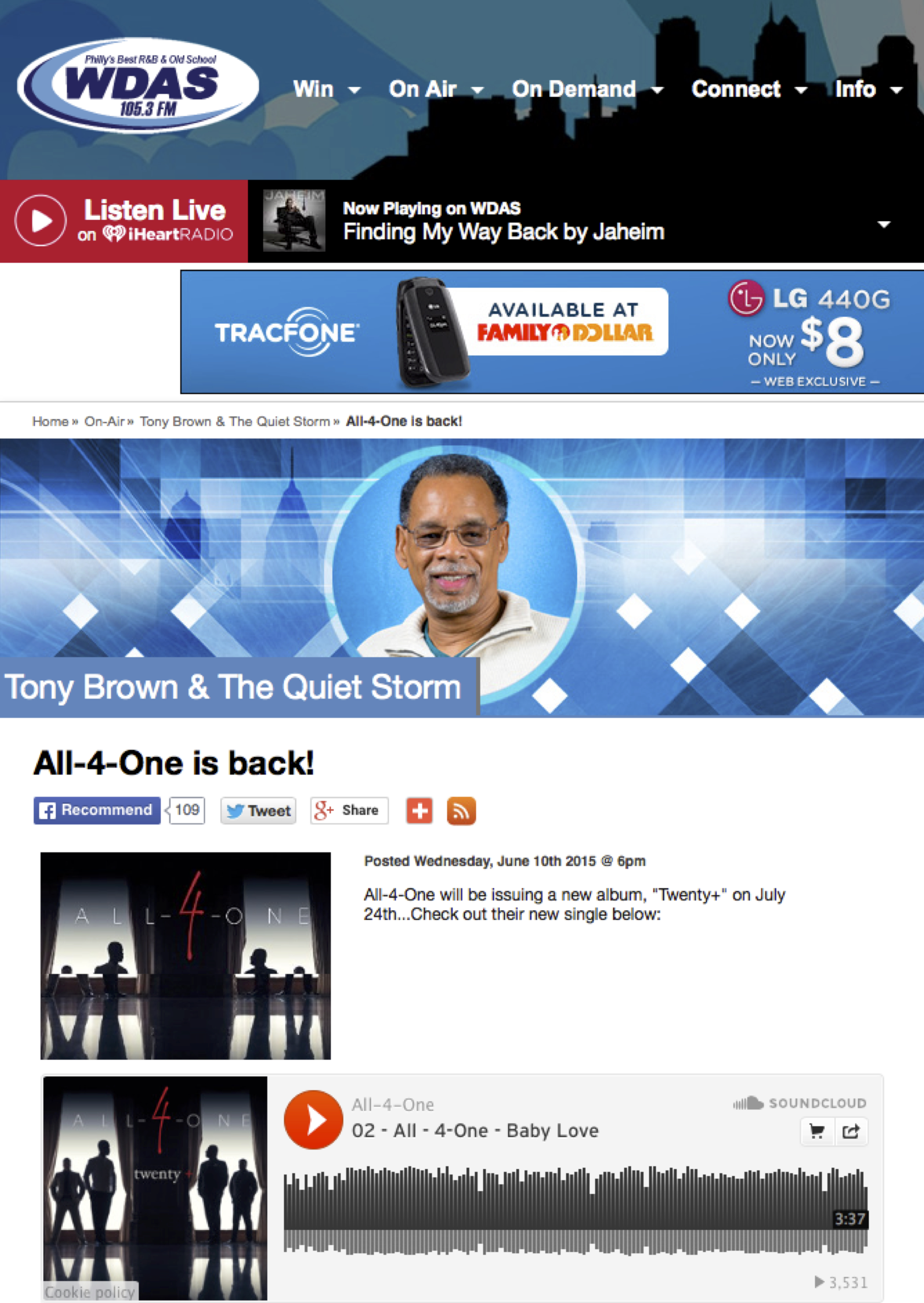 CLICK ON THE ABOVE IMAGE TO ENTER ARTICLE ON WDAS FM
